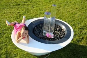 Fontaine Sitting Zen