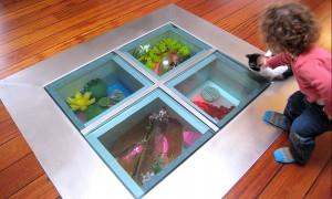 Ground aquarium