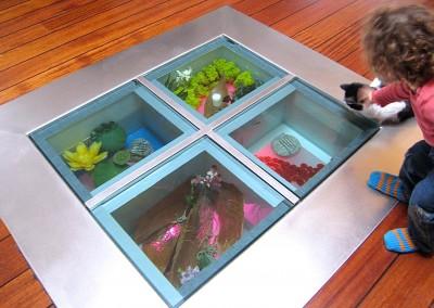 Aquarium de sol