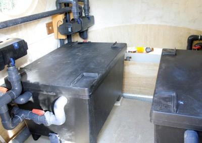 Système de filtrage d'un bassin